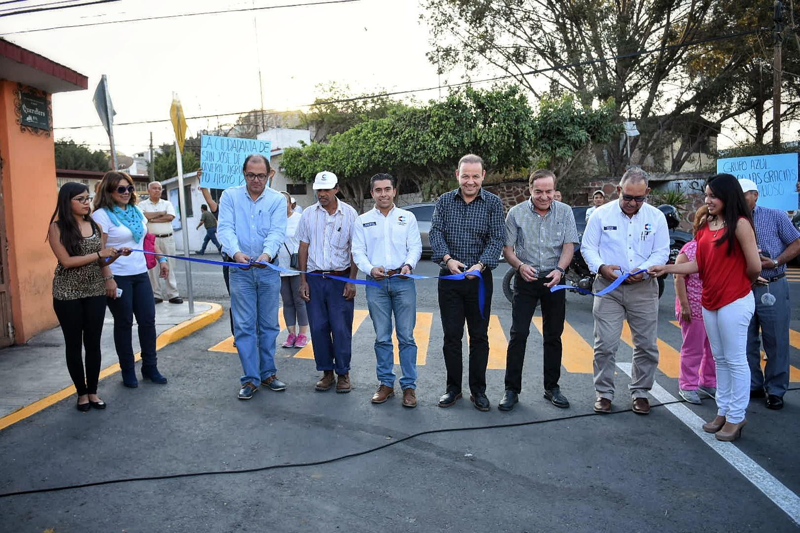 Rehabilitación de vialidades y urbanización San José de Los Olvera (1)