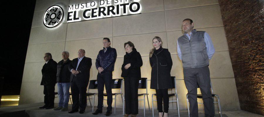 Presenta Mauricio Kuri el edificio del Museo de Sitio El Cerrito