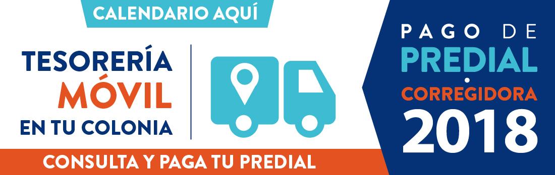 Slide Calendario Caja Móvil Predial 2018-01